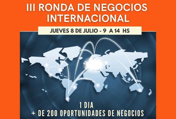Tercera Edición de la Ronda de Negocios Internacional en formato Virtual