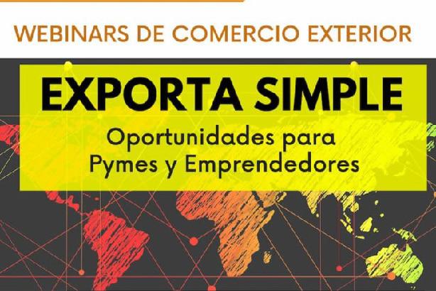 Webinars de Comercio Exterior durante Mayo